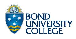 Bond University College